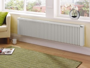 Chauffage lectrique les avantages et les inconv nients - Radiateur a inertie avec coeur de chauffe en fonte ...
