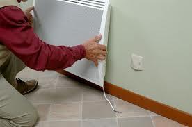 Faire attention lors du branchement du chauffage électrique